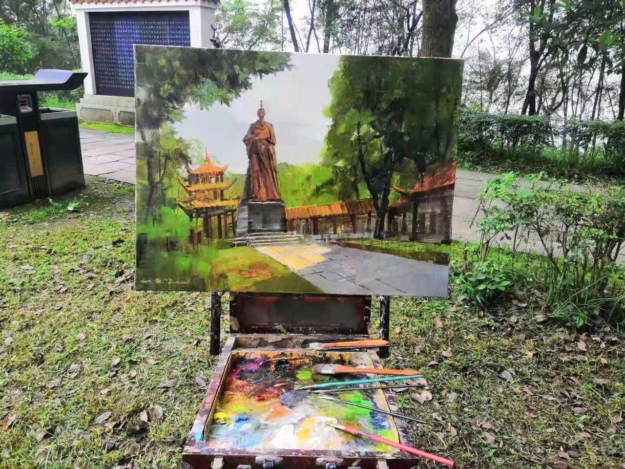 """展览预告   2021""""蓝墨水的上游""""全国青年油画风景邀请展(第一期)"""