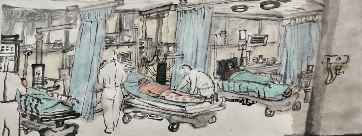 方向特辑 | 记录·反思·慰藉——抗疫时期作品征集计划作品欣赏